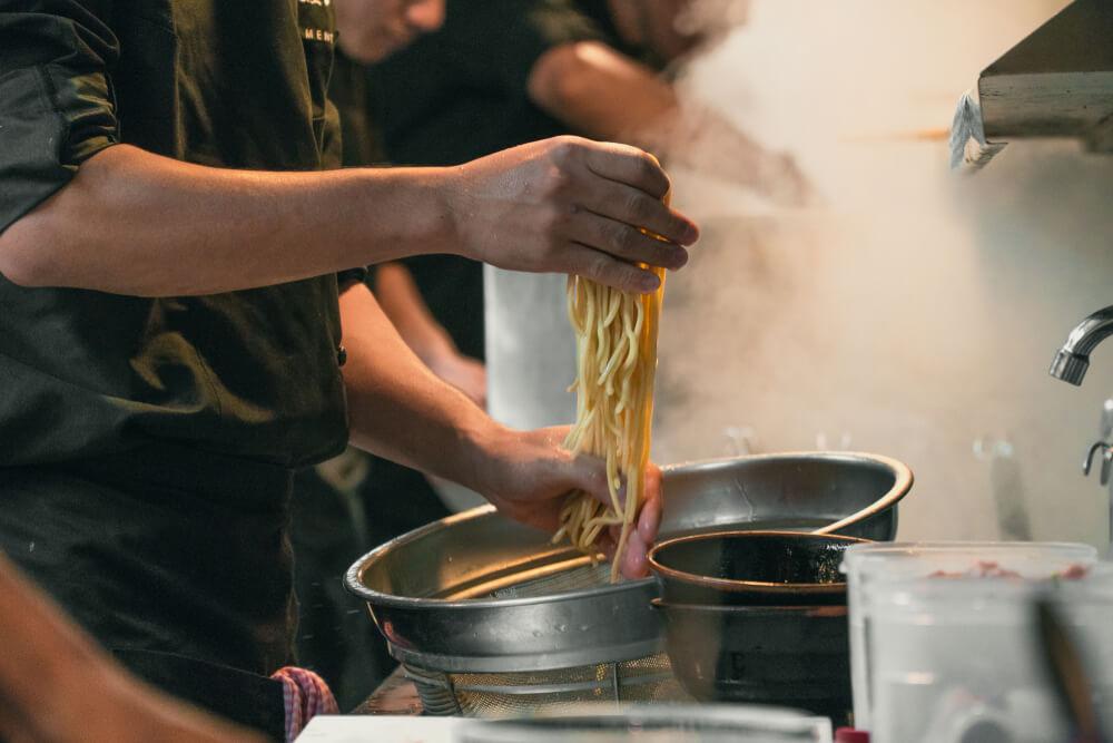 6. Broil the Noodles